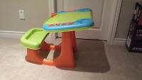 Kids Desk & Fisher Price Car - Only $10