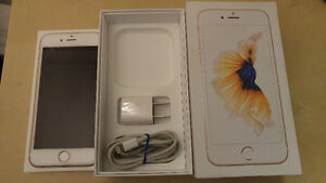 brand new apple iPhone 6S rose gold  (rogers)