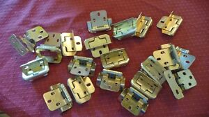 18 Brand new Bronze concealed self closing cabinet hinges