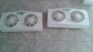 Honeywell Dual Window fan