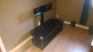 Glass 2-tier TV stand. $100 OBO