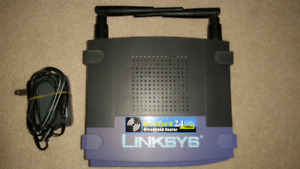 EUC - Linksys WRT54G2-V8.1 Wireless-G Broadband Router DD-WRT