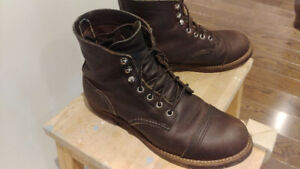 Red Wing Iron Ranger - 7.5D Worn for 3 month