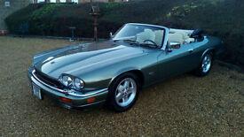 LHD Jaguar XJS 4.0 CONVERTIBLE, AUTOMATIC, ELECTRIC HOOD LEFT HAND DRIVE