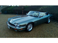 LHD Jaguar XJS 4.0 CONVERTIBLE, AUTOMATIC, ELECTRIC HOOD