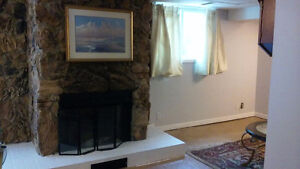 Newly Refreshed 2 Bedroom Basement Apartment with Walkout