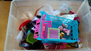 Barbie dolls, Shopkins, and more!