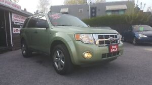 2009 FORD ESCAPE XLT *** FULLY LOADED 4X4 *** CERT $6995