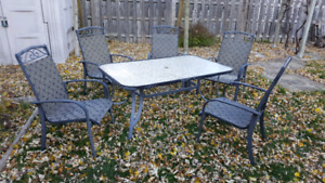 Patio Set - Table and 5 chairs