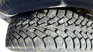 Studed winter tires