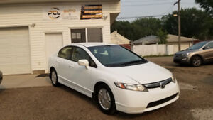 2008 Honda Civic Hybrid! LOW KMS! Excellent on Gas! No Accidents