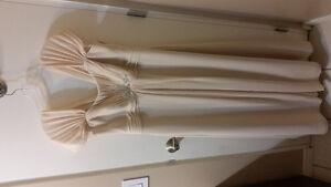 Beautiful champagne wedding dress