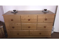 8 Drawer Pine Dresser