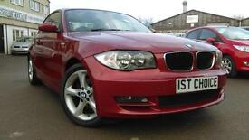 2008 BMW 1 SERIES 120D SE LOVELY COLOUR COMBINATION REAL EYEFUL GREAT VAL