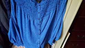 China Blue Blouse