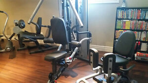 BODY-SOLID G10B BI-ANGULAR GYM WITH INNER/OUTER THIGH ATTACHMENT Windsor Region Ontario image 8