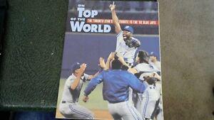 THREE 1992 TORONTO BLUE JAYS WORLD SERIES BOOKS