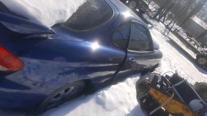 2001 hyundai tiburon part out