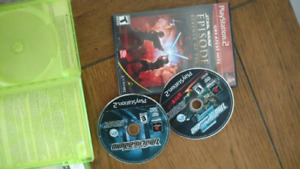 Ps2 games 5$ for all 3
