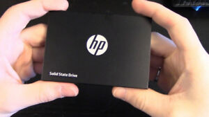 HP SSD 120GB Solid State Drive = $40
