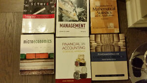Lots of Business textbooks for Sale.  Ryerson UT York