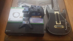 XBOX One with Guitar Hero Live