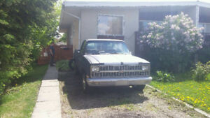 1981 Chevrolet C10 Pickup Truck project