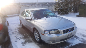 2005 Volvo S80 2.5 AWD Certified & E-Tested