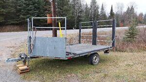 Snowmobile  or  ATV  trailer