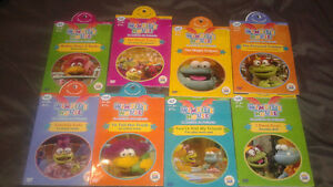 Lot de 8 DVD pour enfants 15$ le lot