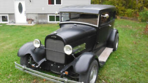 1928 FORD MODEL A 2 DR TUDOR !!    327 SBC !!!!!!!!!!!!!!!