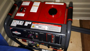Briggs & Stratton 8000W Electric start generator.