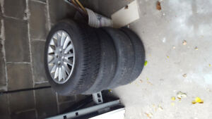 Acura EL tires and stocked rims