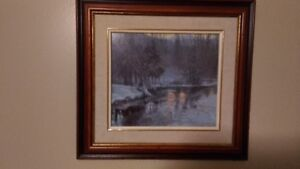 PICTURE ART PAINTING FRAME with glass