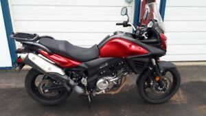 2014 Vstrom DL650, low K.