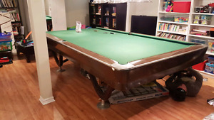 5'x10' Brunswick  Snooker Table from ALEX BILLIARDS 4167166707
