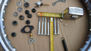 Ducati 250 rims and miscellaneous parts