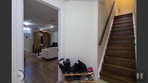 2 Bedroom Brand New Renovated Basement for rent from July 1st!!
