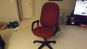 """"""" Wine Colored Material Computer Chair """""""