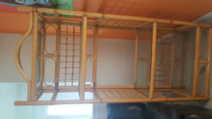 Sellimg bamboo decortion or book   shelves for 70 dollars