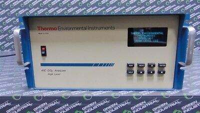 Used Thermo Environmental Instruments Inc. Model 41c High Level Co2 Analyzer