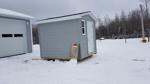 8X10 FULLY INSULATED SHED Delivery included in price