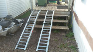 $100 FIRM!!!               ***SET OF STEEL RAMPS MADE BY WEST***
