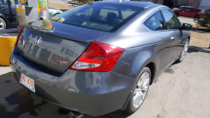 2012 HONDA ACCORD V6 EX-L COUPE 2DOOR V6 Fully loaded