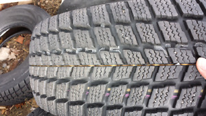 P235/75R15 snow tires like new