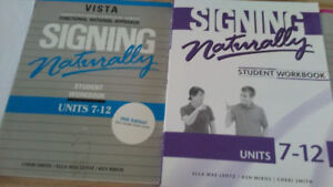 American sign language text books