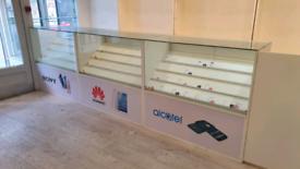 Shop Display Cabinets / Glass / Lockable