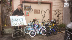 A Shout Out to the donors of these Lumpy Bikes