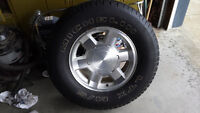GMC Truck RIMS with Michelin TIRES