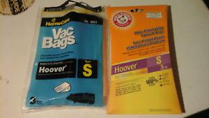 Hoover Type  S vacuum cleaner bags.